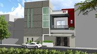 3D 120 yds house
