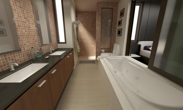 3D model bathroom 04