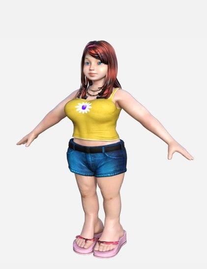 3D big girl games