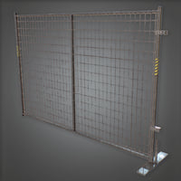 Construction Fence (Construction) - PBR Game Ready