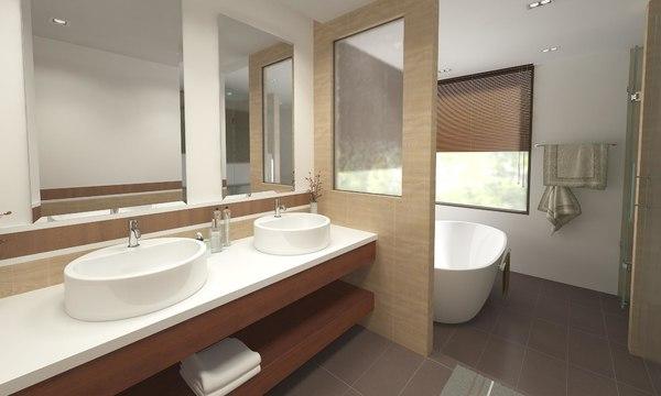 bathroom 07 3D model