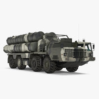 sa-10 grumble s-300 russian 3D model
