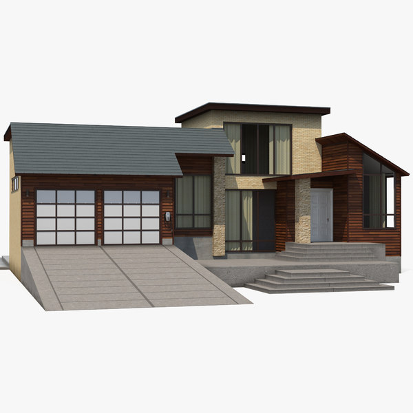 3D model smart house design