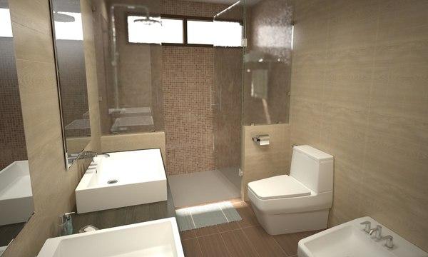 bathroom 11 3D model
