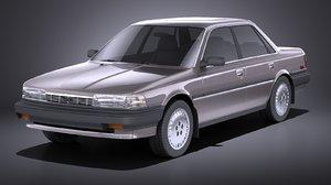 3D 1987 toyota 1991 model
