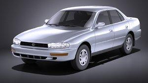 3D model toyota 1996 1992