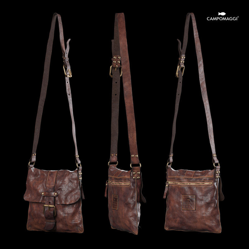 campomaggi lavata shoulder bag 3D model