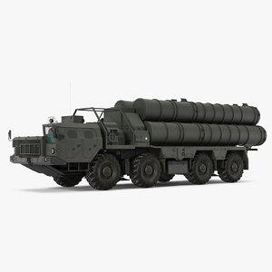3D s-300 russian sam model