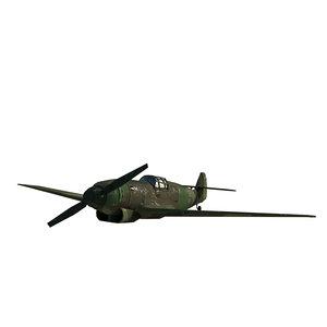 3D war fighter model