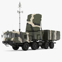 mobile radar station 96l6 model