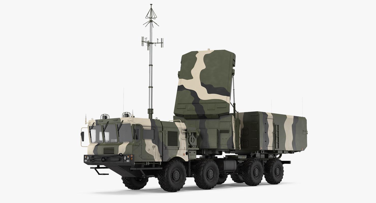 mobile radar station 96l6 model