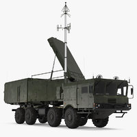 multi functional radar 92n2e 3D model