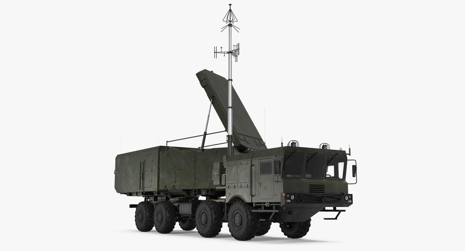 multi functional radar 92n2e 3D model