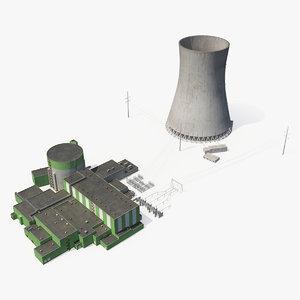 3D nuclear power plant 2
