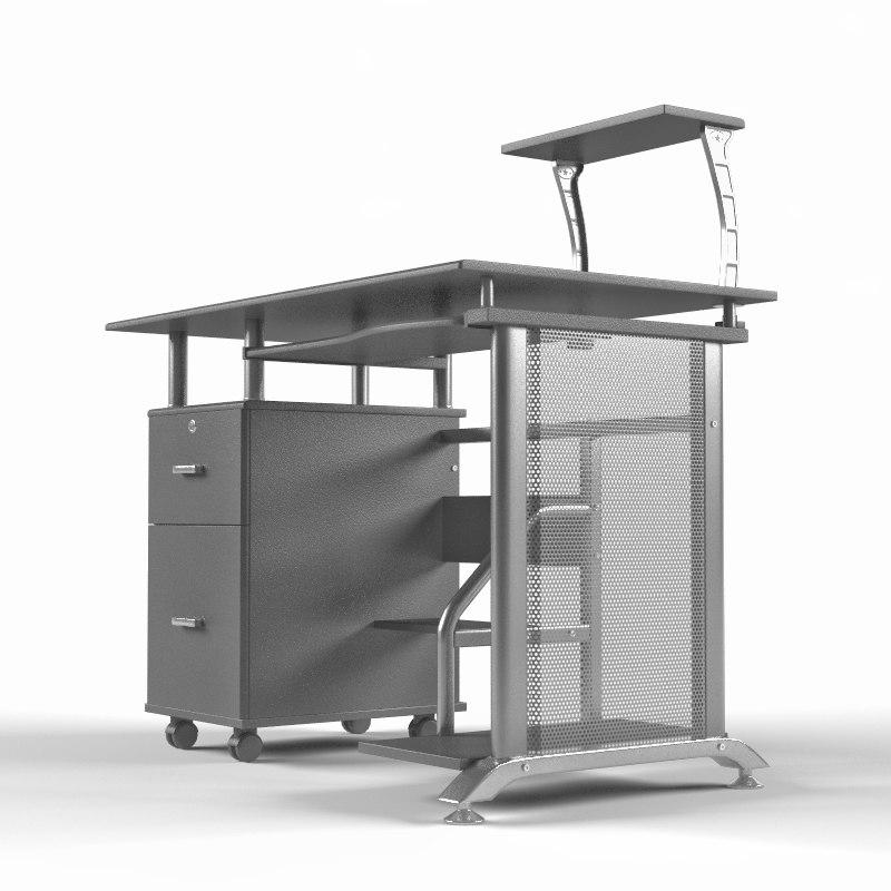 rothmin computer desk 3D model