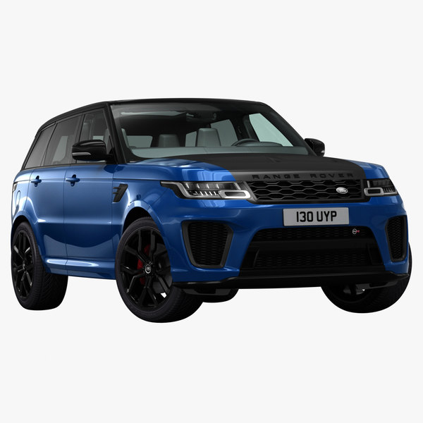 3D model 2018 land rover range