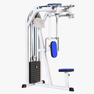 chest machine 3D model