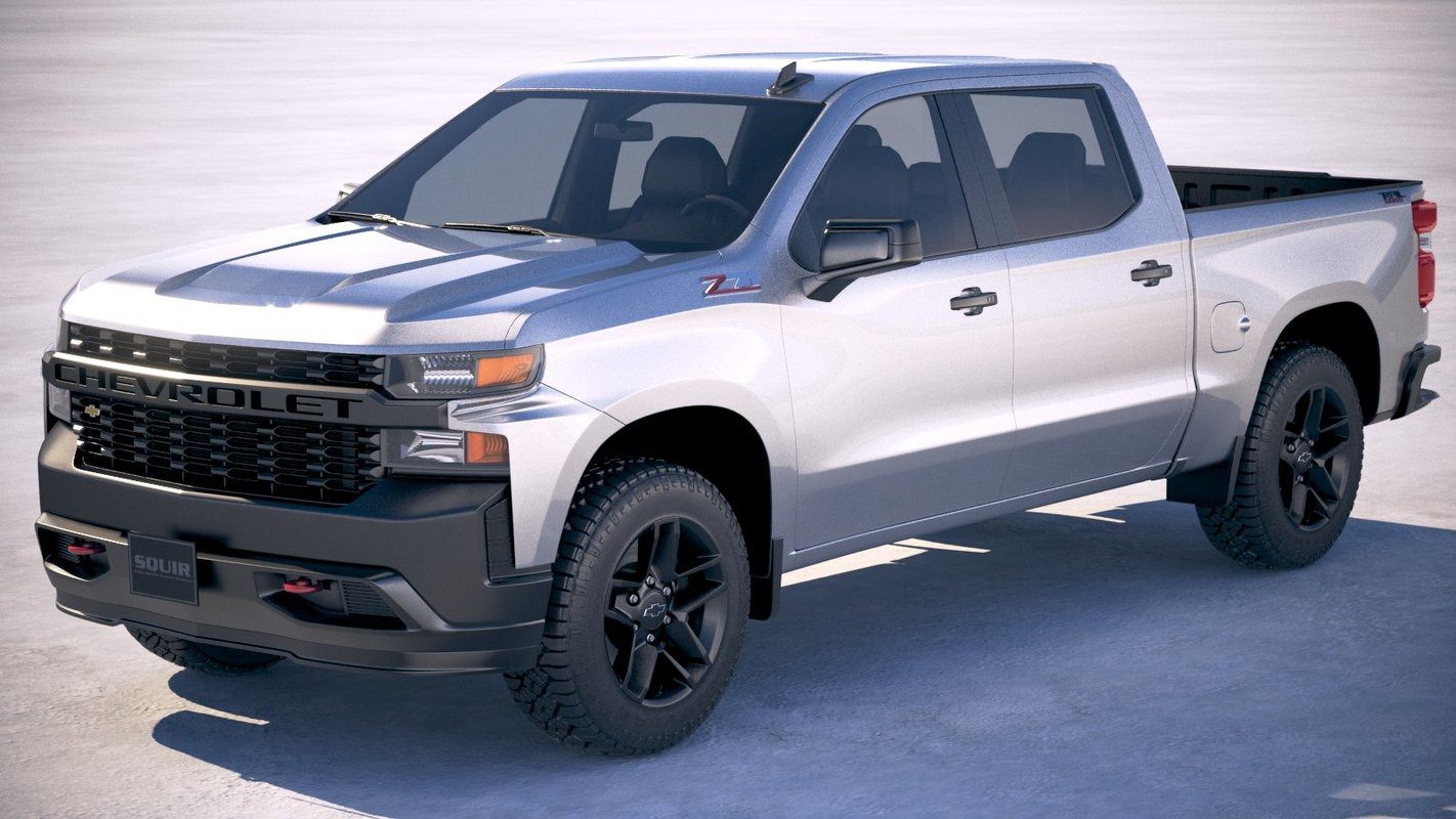 Chevrolet silverado custom 3D - TurboSquid 1251801