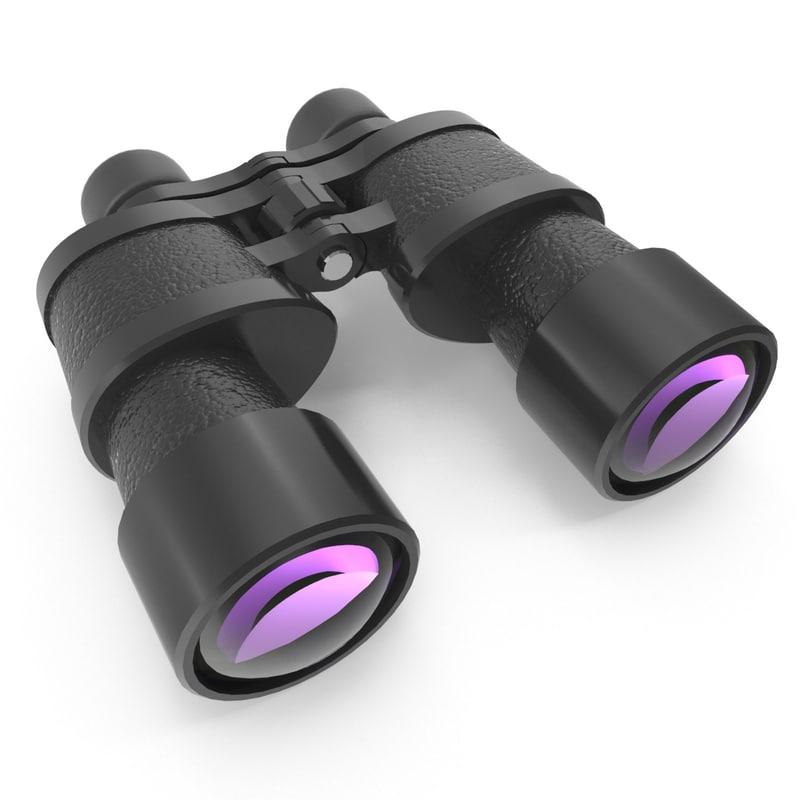 3ds max binoculars