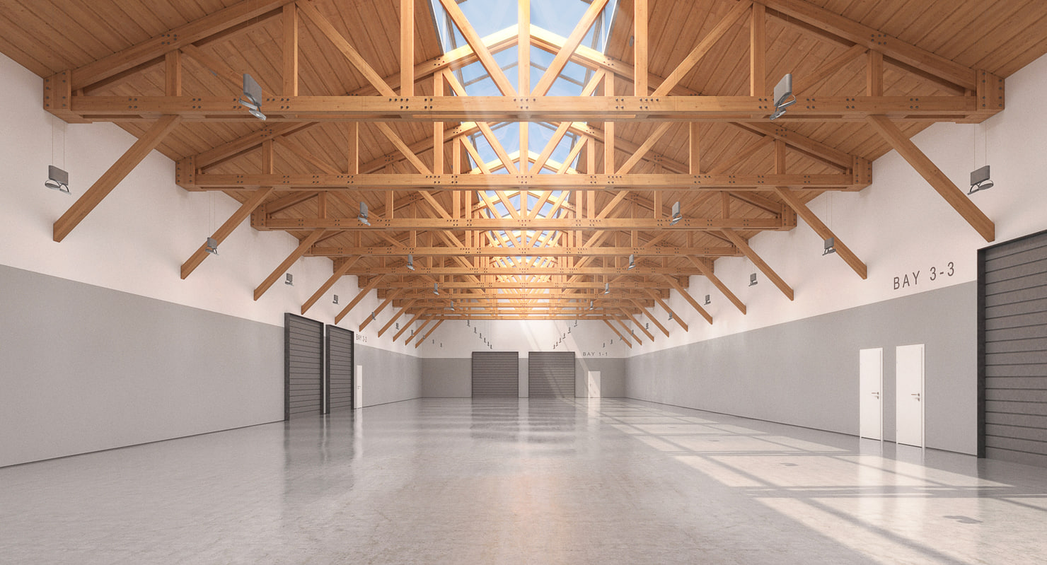 3D warehouse realistic model