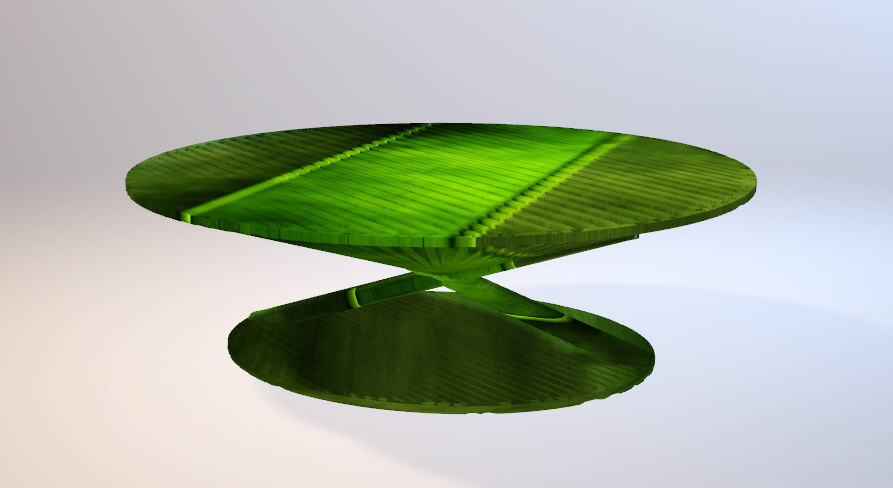 asian style table 3D