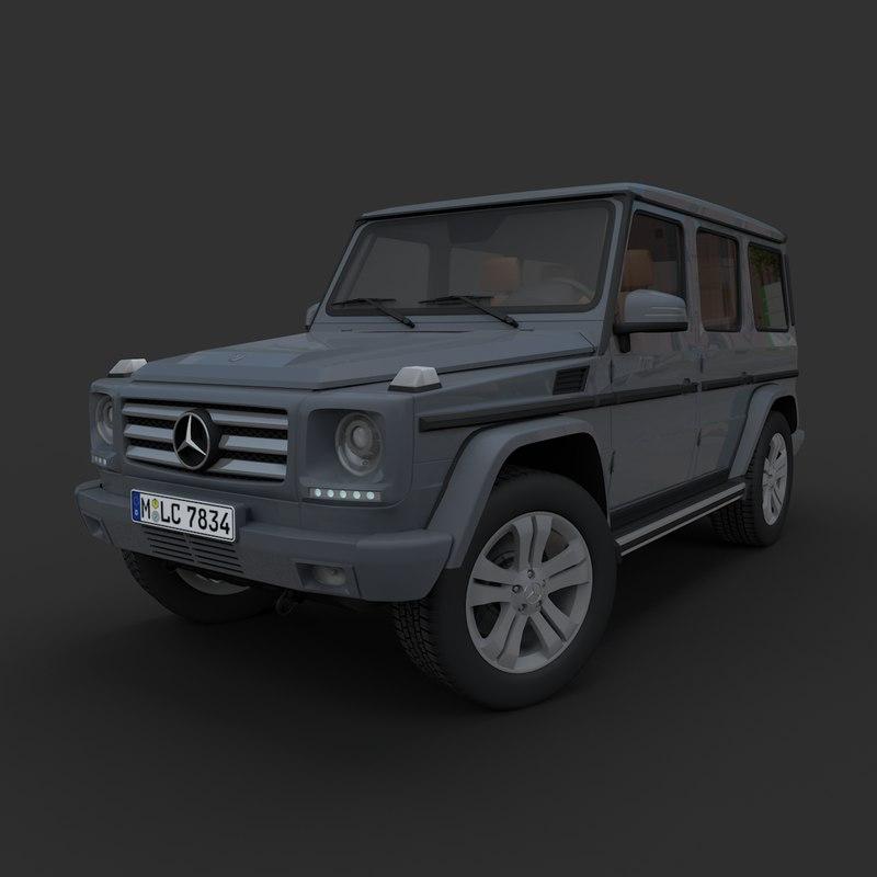 3D model mercedes-benz g-class