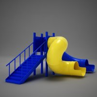 HD Playground Slide