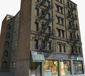 new york buildings - model