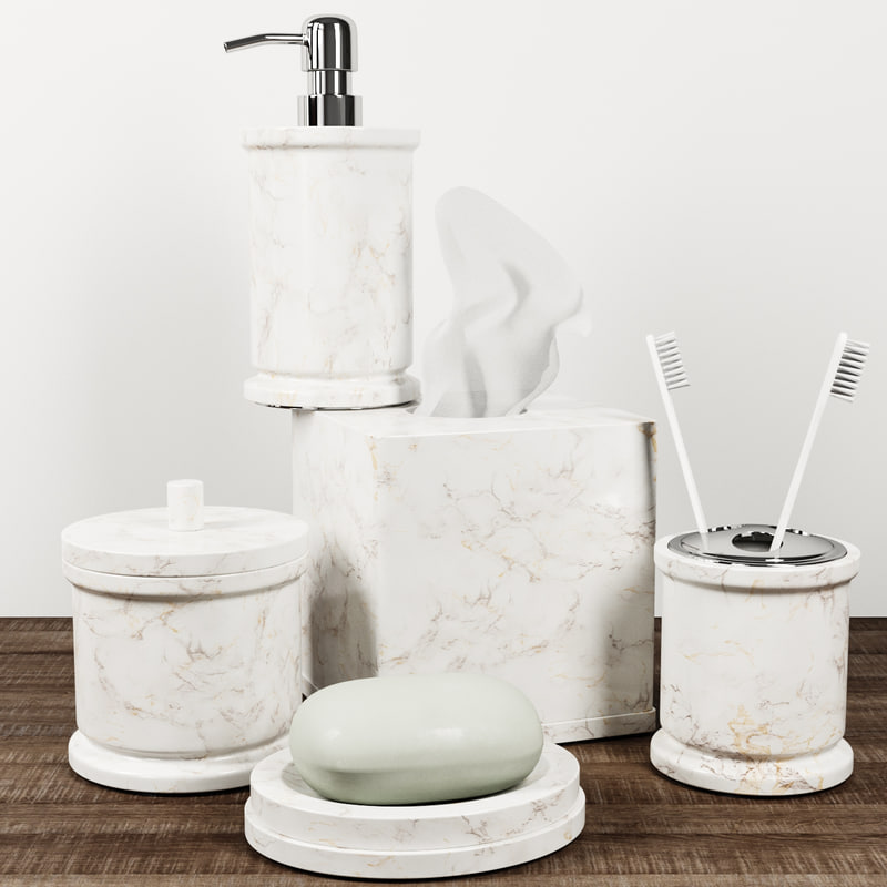 monique lhuillier marble bath 3D