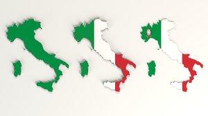 italy italian country 3D model