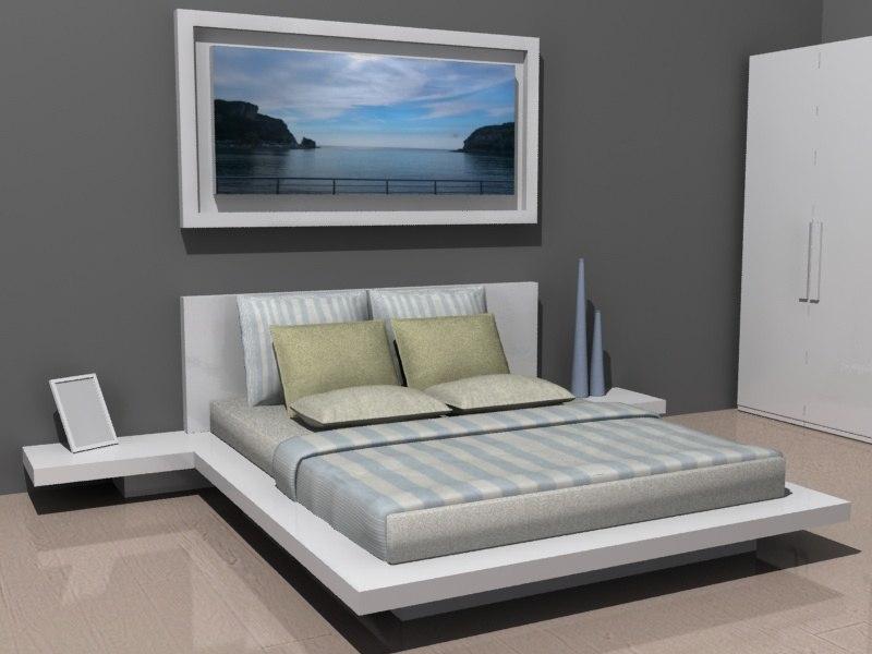 3D bedroom suite