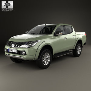 mitsubishi triton double model
