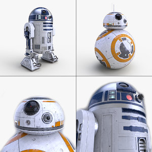 star wars bb-8 3d model