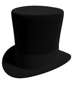 formal hat 3D