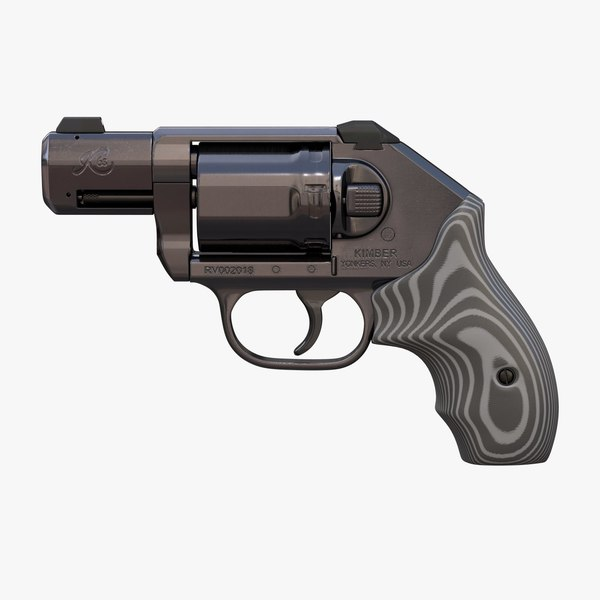revolver kimber k6s deep 3D model