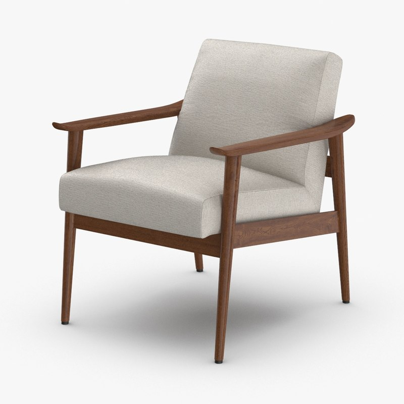 mid-century-modern-arm-chair model