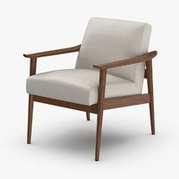 mid-century-modern-arm-chair model