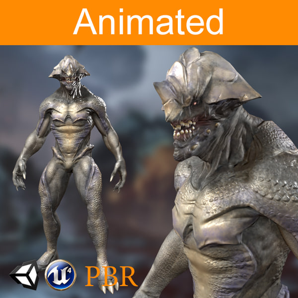 character creature 01 model