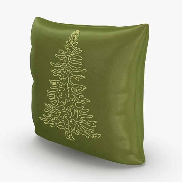 christmas-pillows---green-tree model