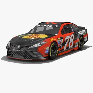 furniture row racing nascar 3D model