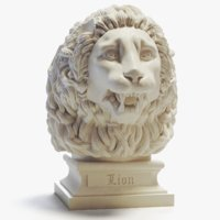 Lion Head Peaceful Printable