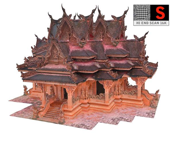 ancient temple 3D