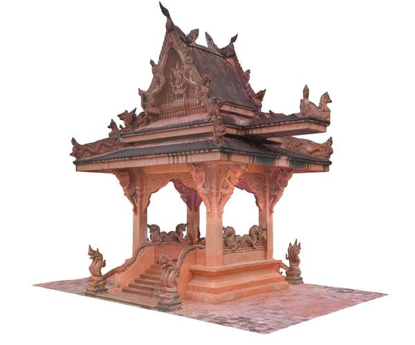 3D ancient 16 k model