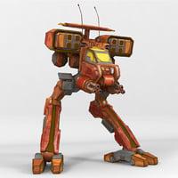 mech jackrabbit 3D model
