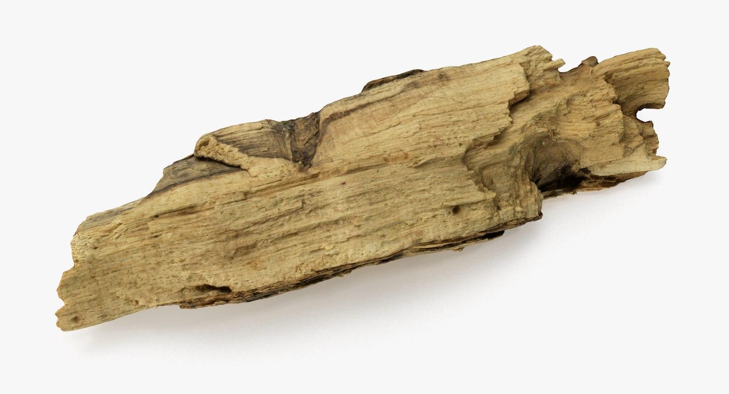 driftwood wood 3D model