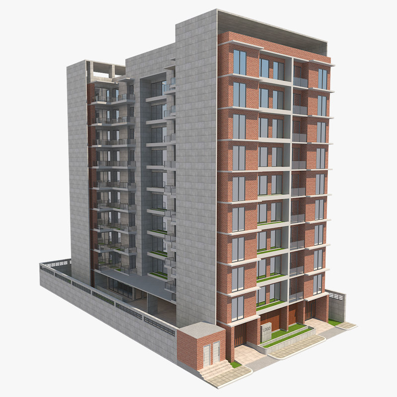 building apartment model