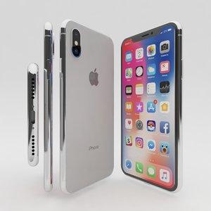 new phone x 3D model
