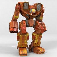 3D mech sledgehammer