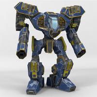 mech vanguard 3D model