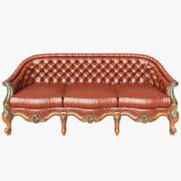 3D sofa angelo cappellini
